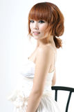 Schönheitsportraitfrau Stockfotos