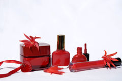 Schönheitsprodukte .cosmetic Stockfotografie