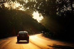 Schönheitsstraße Lizenzfreie Stockfotografie