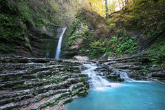 Schönheitswasserfall Lizenzfreie Stockfotografie