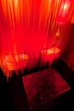 Schönheitswohnzimmer mit chinesischer Art Lizenzfreie Stockfotografie