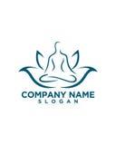 Schönheitszusammenfassung Yoga Wellness 2 lizenzfreie abbildung