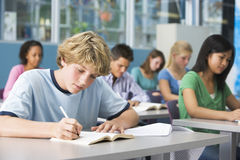 Schüler in der School-Kategorie Lizenzfreies Stockfoto