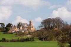 Schüren Sie trockenes Dorf, Rutland, Großbritannien Stockbild