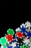 Schürhaken-Chips Stockfotos