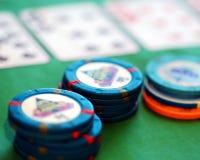 Schürhaken-Chips Lizenzfreie Stockfotos