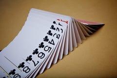 Schürhaken-Karten Lizenzfreie Stockfotos