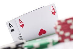 Schürhakenkarten Lizenzfreie Stockfotografie
