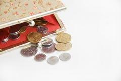 Schürzen Sie mit Geld Stockfotografie