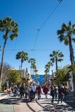 Schüsse des Erlebnisparks Disneys Kalifornien, ist ein Freizeitpark, der in Anaheim gelegen ist stockfotos