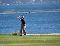 Schüsse des Golfspielers Stockfotos