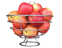 Schüssel Äpfel Lizenzfreies Stockfoto