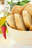 Schüssel Brot Lizenzfreies Stockbild