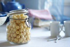 Schüssel Corn-Flakes Lizenzfreie Stockfotografie