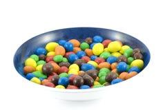 Schüssel der Süßigkeit lizenzfreies stockbild