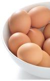 Schüssel Eier Lizenzfreies Stockbild