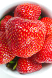 Schüssel Erdbeeren Stockfotografie