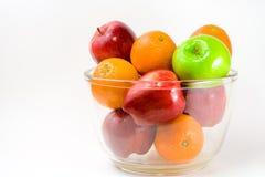 Schüssel Früchte Lizenzfreies Stockfoto