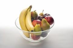 Schüssel frische Frucht Lizenzfreies Stockfoto