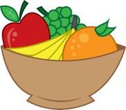 Schüssel Frucht lizenzfreie abbildung