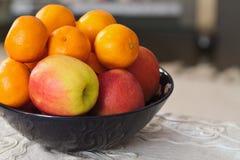 Schüssel Frucht Lizenzfreie Stockfotografie