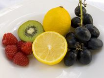 Schüssel Frucht Lizenzfreie Stockfotos