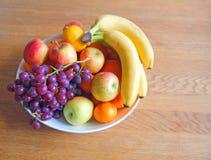 Schüssel Frucht Stockbild