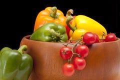Schüssel Gemüse Lizenzfreie Stockfotos