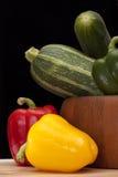 Schüssel Gemüse Stockbild