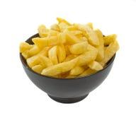 Schüssel heiße Chips Stockbilder