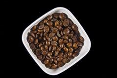 Schüssel Kaffee Lizenzfreies Stockfoto