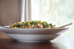 Schüssel Kartoffel-Salat Stockfotografie