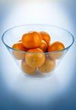 Schüssel Orangen Lizenzfreies Stockfoto