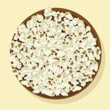 Schüssel Popcorn Stockfoto