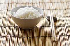 Schüssel Reis stockbild