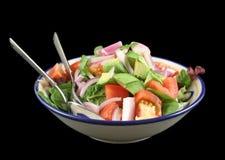 Schüssel Salat 1 lizenzfreie stockbilder