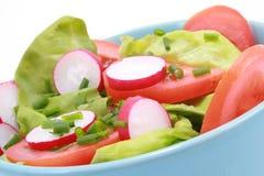 Schüssel Salat Stockbild