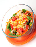 Schüssel Salat Lizenzfreie Stockbilder