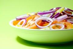Schüssel Salat A Lizenzfreies Stockfoto