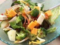 Schüssel Salat Lizenzfreie Stockfotografie