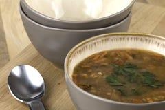Schüssel Suppe Stockbild