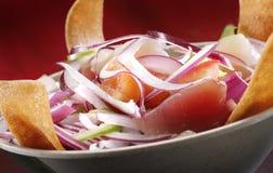 Schüssel Sushi-Salat Lizenzfreies Stockfoto