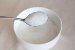 Schüssel Zucker Stockfotografie
