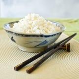 Schüsseln Reis Stockfoto