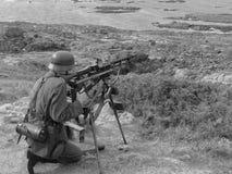 Schützen der atlantischen Wand Lizenzfreie Stockbilder