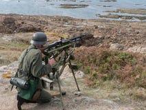 Schützen der atlantischen Wand Stockfoto
