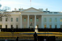 Schützen des Weißen Hauses stockfotografie