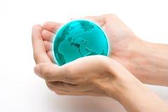Schützen Sie das Erde-Konzept Lizenzfreies Stockfoto