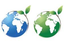 Schützen Sie den Planeten Lizenzfreies Stockfoto