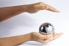Schützen Sie die Erde Stockfoto